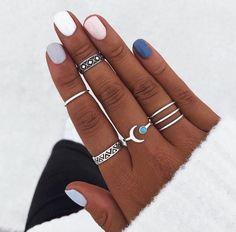 Piercings, Ten Nails, Winter Nails, Summer Nails, Graduation Nails, Wire Jewelry Designs, Manicure Y Pedicure, Accesorios Casual, Nail Games