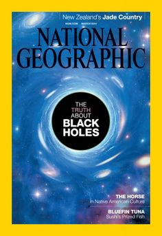 National Geographic magazine in march 2014