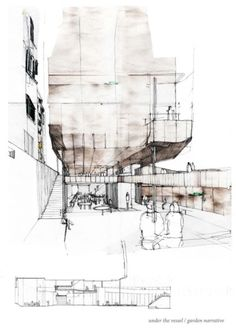 Architecture Sketch from: www.presidentsmed… Related posts: Mourning House sketch design architecture drawing by Pascal Arquitectos Fer Neyra – architecture. Croquis Architecture, Architecture Design, Architecture Graphics, Architecture Student, Architecture Portfolio, Concept Architecture, Garden Architecture, Architecture Company, Architecture Diagrams