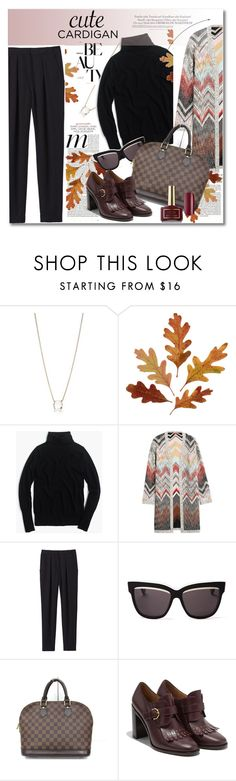 Cute cardigan by vkmd on Polyvore featuring J.Crew, Missoni, Rebecca Taylor, Salvatore Ferragamo, Louis Vuitton, Kate Spade, Christian Dior, Ciaté, Melissa and mycardi