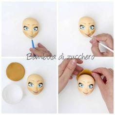 Anna Frozen by Bambola di zucchero - CakesDecor deel 8