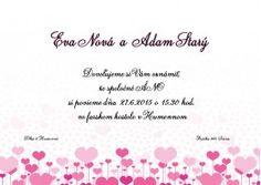 Svadobné oznámenie - SO138