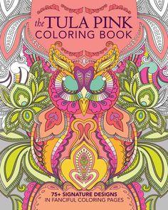 Tula Pink Coloring Book⎜Book – The Cloth Pocket