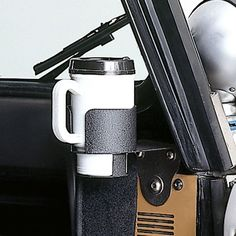 Rugged Ridge Cup Holder for 76-95 Jeep CJ-5, CJ-7, CJ-8 Scrambler & Wrangler YJ