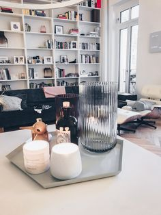 White minimal design we love