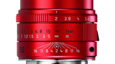 You Can Now Buy A Bright Red Leica APO Summicron-M 50mm f/2 ASPH Lens