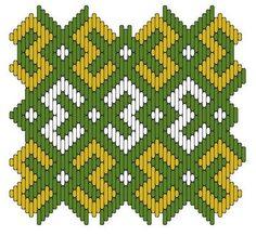 Brick stitch pattern #15