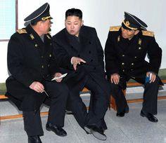 Kim Jong Un  leader of North Korea~ a very evil force....
