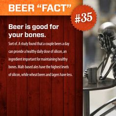 """Beer """"Fact"""" #35.     More at: http://www.swagbrewery.com/blogs/beer-facts"""