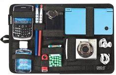 Trucos Viajeros. Grid-it. Un organizador de maleta que configuras tú a tu gusto. Moola