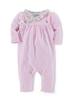 Size 3 Months Dedicated Baby Girl 100% Cotton Footed Sleeper By Circo Neither Too Hard Nor Too Soft