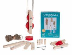 FLASCHENZÜGE Experimentierkasten von KRAUL Spielzeug // WILDHOOD store