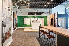 Platform by Aragon Properties - Free Agency Creative Sales Office, Aragon, Vancouver, Signage, Environment, Typography, Platform, Real Estate, Desk