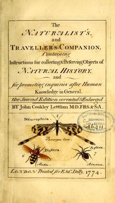The naturalist's and traveller's companion, - Biodiversity Heritage Library