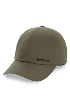 f7a6d43546d Barbour Dee Waterproof Sports Cap - Olive - Totem Brand Co