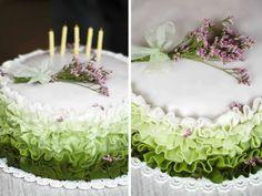 our ruffle cake :)