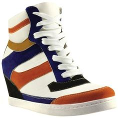 Bakers Think Fast Wedge Sneaker ($69) ❤ liked on Polyvore paid 6 dollars for mine!
