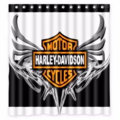 Harley Motorcycles Shower Curtain Featuring The Photograph Harley Davidson  Softail Deluxe 2015b By Stephanie Hamilton | Pinterest | Products, ...