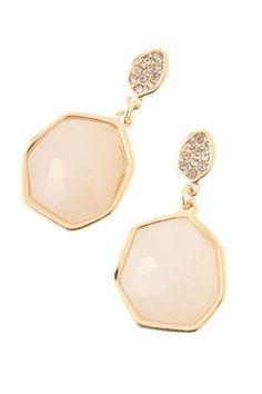 fashion, style, accessori, earring three, colors, pale pink, patsi, jewelri, earrings
