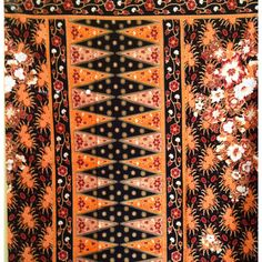 Your place to buy and sell all things handmade Malaysian Batik, Batik Art, Orange Design, Sarongs, Art Forms, Future House, Etsy Store, Decor Styles, Bohemian Rug