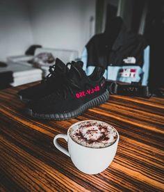 Sneakers n coffee. Adidas Yeezy Boost 350 V2 Bred