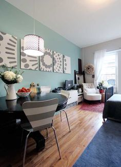 Home tour : how to decorate a small apartement in Manhattan ?!