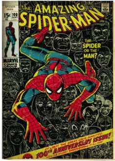 vintage (1962) Spiderman comic book