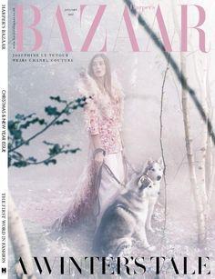Harper's Bazaar UK January 2017 Covers (Harper's Bazaar UK)