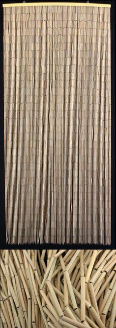 Plain Bamboo Curtain 36 x 72 $35.00 by beadedcurtainstore.com