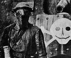Splatter mask, British tank crew, 1917