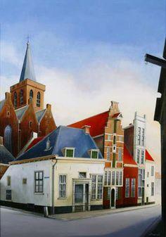 Lavendelstraat Amersfoort - Wim Hagebeuk