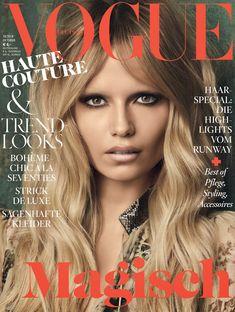 Vogue Germany October 2014 | Natasha Poly by Luigi + Iango