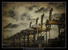 Cranes - PS Crane, Ps, Photo Manipulation