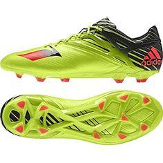 separation shoes d01c8 4fbdb adidas Messi 15.1 FGAG Soccer Cleats (Semi-Solar Slime) Sz. 7.5