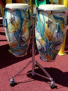 Diy Drums, Miles Davis, Drummers, Musical Instruments, Puerto Rico, Folk Art, Passion, Studio, Heart