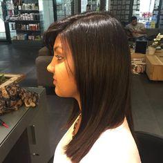 Hair colour and blowdry by Chantal at Midori
