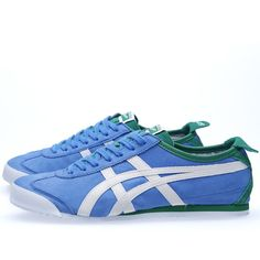 208088d62a9 Buy the Onitsuka Tiger Mexico 66  Kobe Marathon  in Mid Blue   Green from  leading mens fashion retailer END. - only Fast shipping on all latest Asics  ...