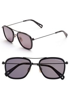 bcddcfab824 Free shipping and returns on G-Star Raw  Double Rackler  53mm Sunglasses at