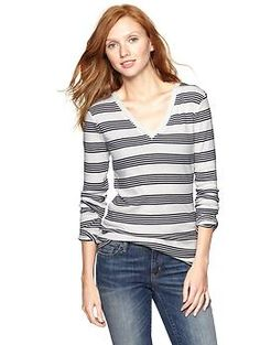 Supersoft heritage stripe T | Gap