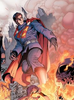 "A Different Look in Superman #50 ""What Could Have Been, What Can Still Be, And What is"" (2016) - Howard Porter, Ardian Syaf, Patrick Zircher, Jon Bogdanove, Colors: Hi-Fi"