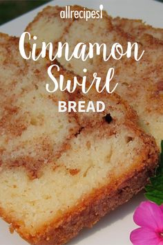 Cinnamon Swirl Bread GREAT RECIPE I make this all the time and always get compliments for it It s so easy to make and the ingredients are so simple breakfastrecipes brunchrecipes breakfastideas brunchideas bread breadrecipes breakfastbread Low Carb Dessert, Dessert Bread, Dessert Recipes, Loaf Recipes, Breakfast Bread Recipes, Quick Bread Recipes, Easy Baking Recipes, Easy Homemade Bread, Bread Maker Recipes