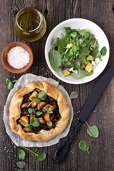 Cooking with Mom, Thoughts about a New Year and a Crispy Mushroom, Potato and Blue Cheese Galette :: Cannelle et VanilleCannelle et Vanille
