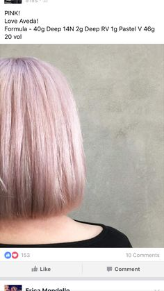 Aveda Hair Color, Hair Color Pink, Rose Blonde, Blonde Shades, Wine Hair, Hair Color Formulas, Hair Secrets, Beach Wave Hair, Color Me Beautiful
