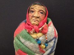 Elder woman - by Mary Frances Woods
