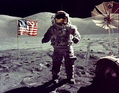 On December 11, 1972, Apollo 17 touched down on the Moon. This was not only our final Moon landing, but the last time we left Low Earth Orbit. Crewed by Commander Eugene A. Cernan, Command Module Pilot Ronald E. Evans and Lunar Module Pilot Harrison P. Schmitt, the Apollo 17 mission was the first to include a scientist.