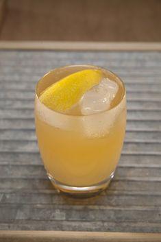 Trinidad Mule 2 oz Angostura® 5 Year 1/2 oz Licor 43 1/2 oz spiced simple syrup 4 oz ginger beer Lemon peel