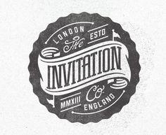 The Invitation Company in Circle Logos