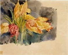 Edelfelt, Albert Flower Studies (recto and verso), ajoittamaton. Helene Schjerfbeck, Art Studies, Watercolor Flowers, Artist, Flower Paintings, Painters, Inspiration, Museum, Scandinavian Paintings