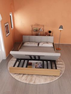 Sleeper Sofa Couch for Bedroom - jréri jwayda style The Effective Pictures We Offer You About home decor cozy A quality picture ca - Sofa Bed Design, Living Room Sofa Design, Bedroom Bed Design, Home Room Design, Home Decor Bedroom, Home Living Room, Living Room Designs, Diy Bedroom, Bedroom Couch