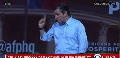 Ted Cruz speaks at Americans for Prosperity, Defending the American Drea...